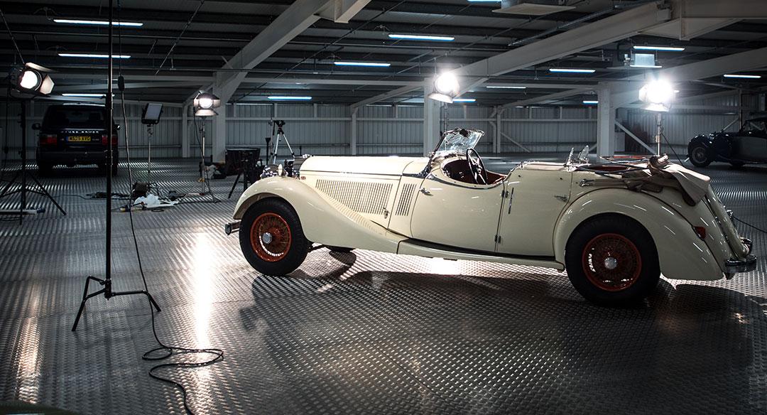 Car studio photography
