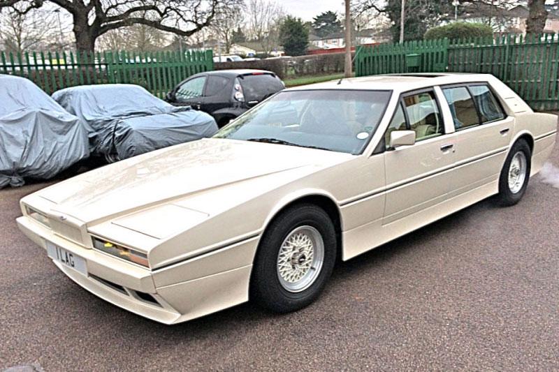 Aston Martin Lagonda Series 2 Tickford limousine (1985)