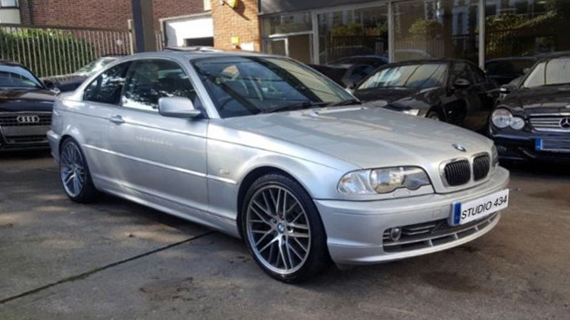 BMW Series 3 E46 330 Coupe (2001)