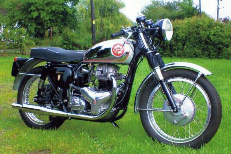 BSA Motorcycles Rocket Goldstar (1962)