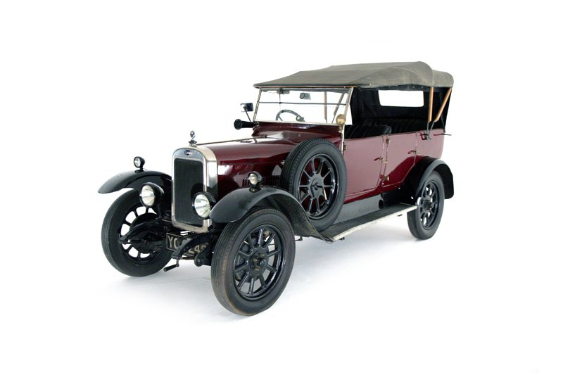 Clyno 10.8 HP Tourer (1927)