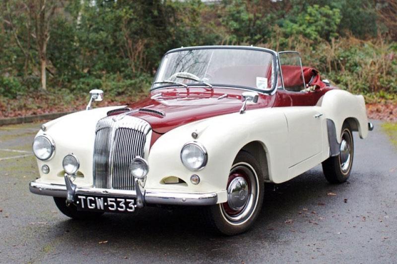 Daimler Conquest Century Drophead Coupe (1956)