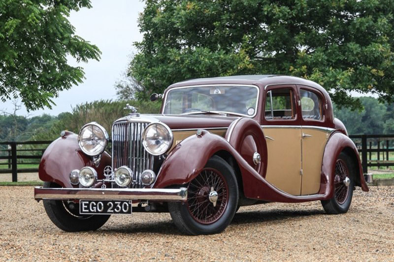 Jaguar SS Saloon ((1937))
