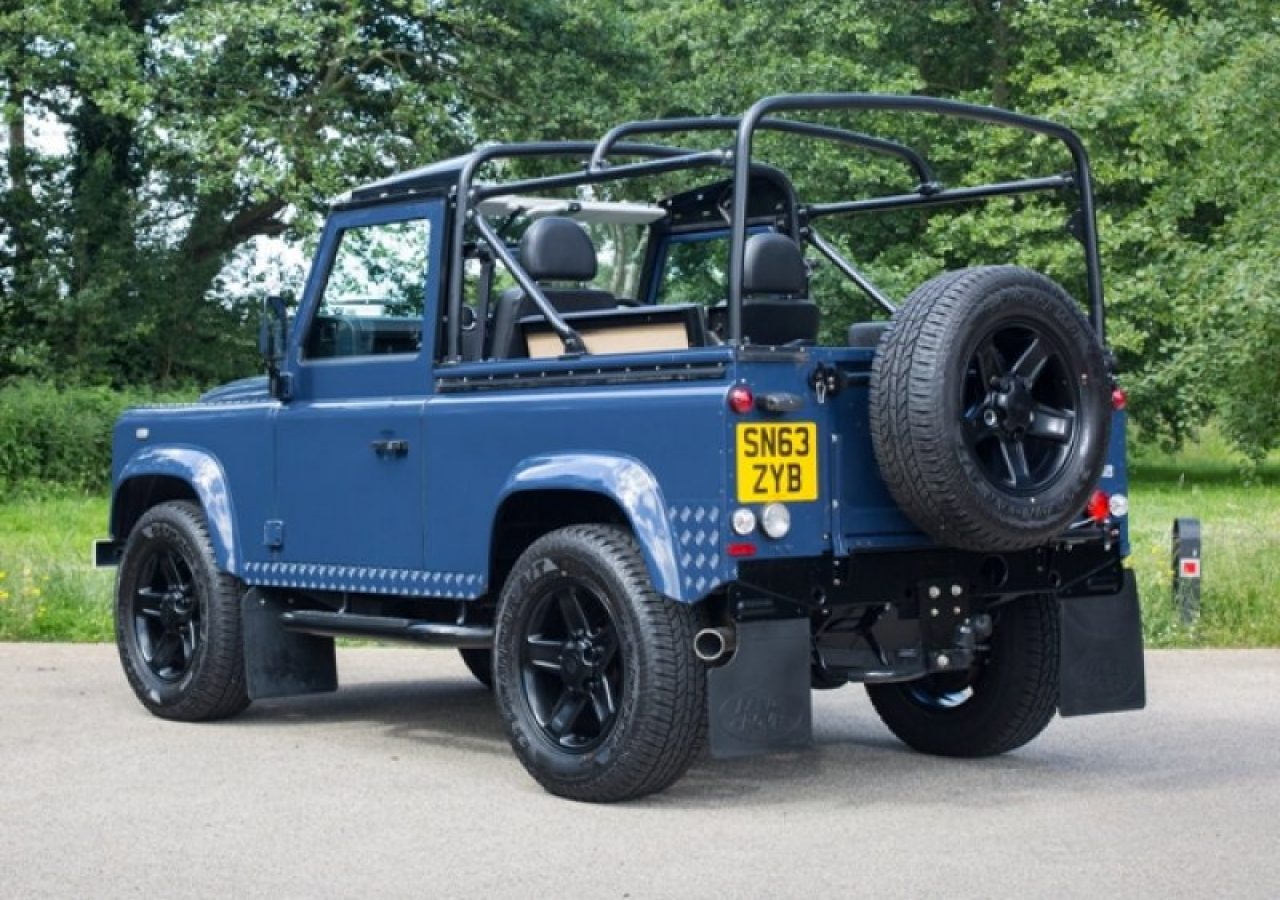 Land Rover Defender 90 Pick Up Td 2013 Studio 434 0