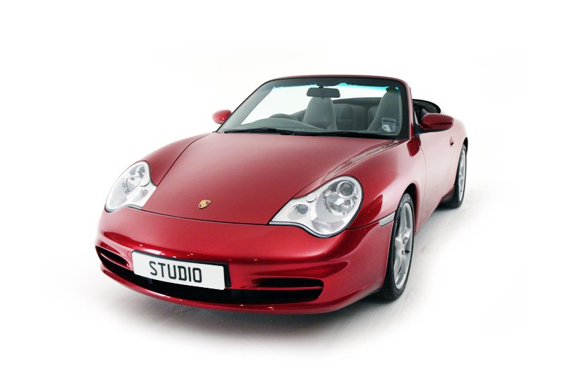 Porsche 911 Carrera Cabriolet (2003)