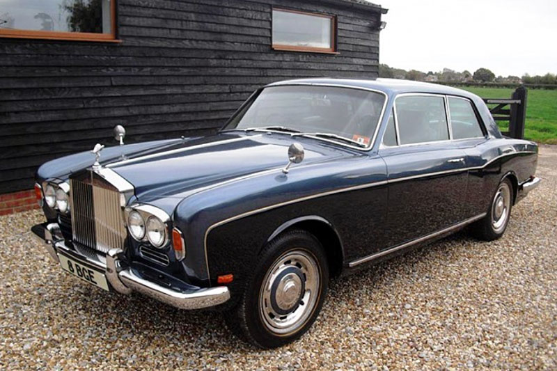 Rolls Royce Corniche 2 Door by Mulliner Park Ward (1970)