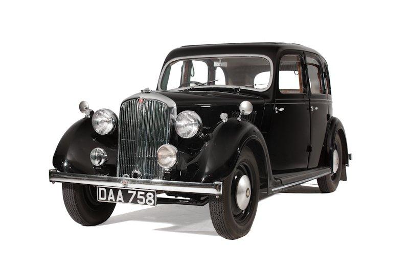 Rover 12hp (1938)