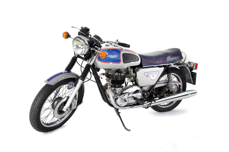 Triumph Motorcycles Bonneville 750 Motorcycle (1977)