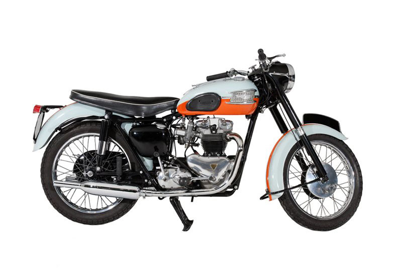 Triumph Motorcycles Bonneville T120 Tangerine Dream (1959)