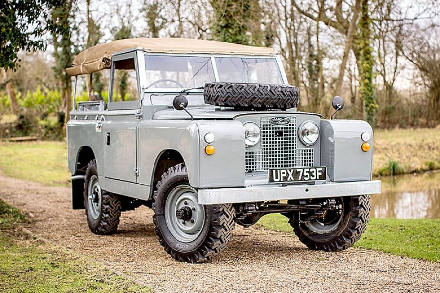 Land Rover Series IIA-88″ (1968)