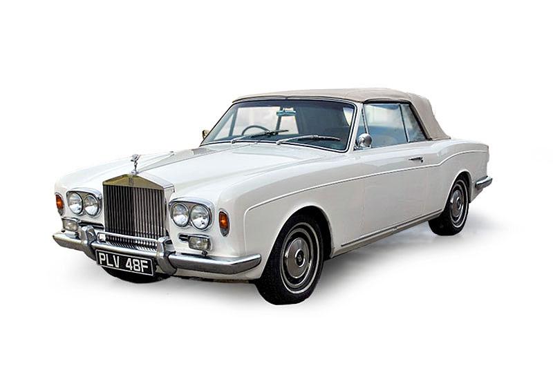 Rolls Royce Mulliner Park Ward Convertible (1968)