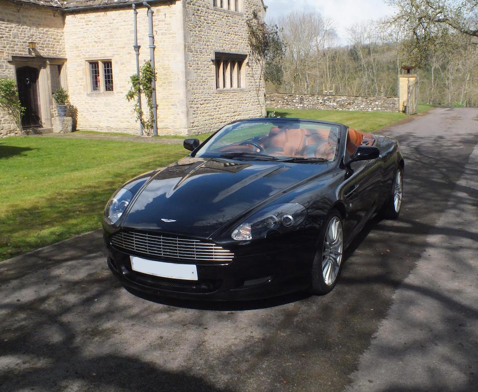 Aston Martin DB9 Volante (2007)
