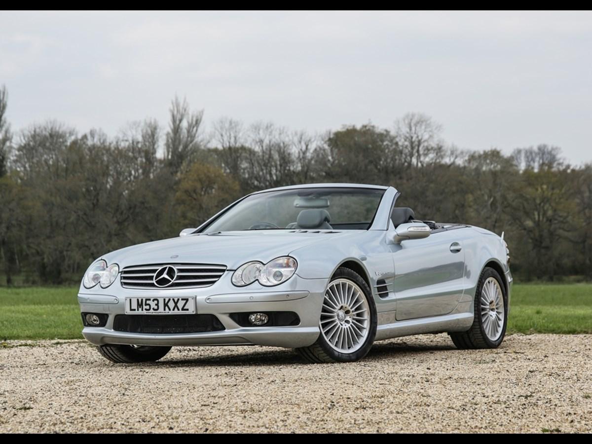 Mercedes SL55 AMG (2004)