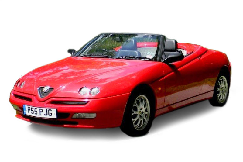 Alfa Romeo Spider Lusso TSpark (2000)