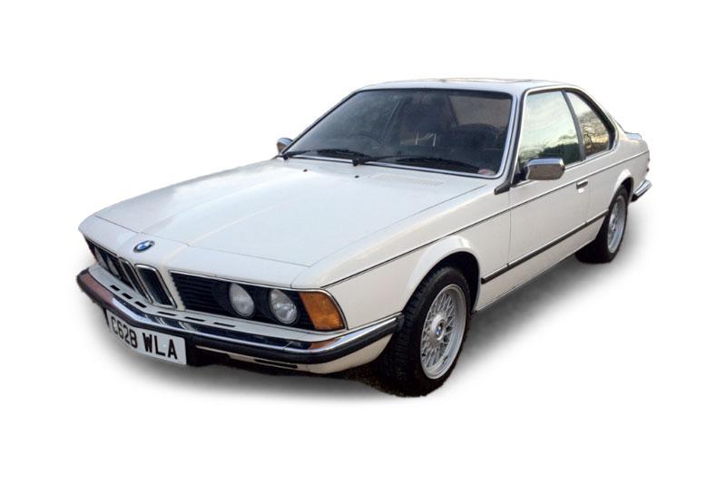 BMW 628 CSI (1986)
