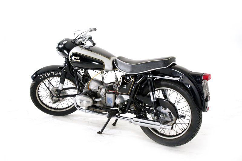 Douglas Motorcycles Dragonfly (1957).