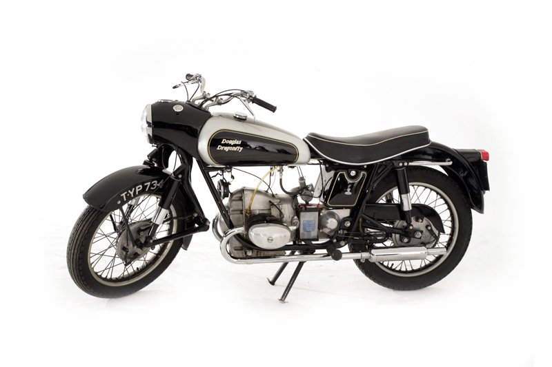 Douglas Motorcycles Dragonfly (1957)..
