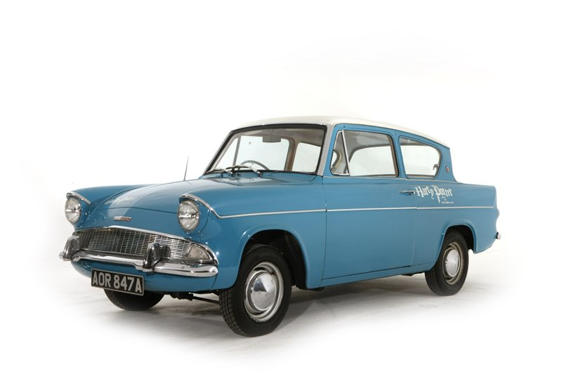 Ford Anglia Deluxe (1960)