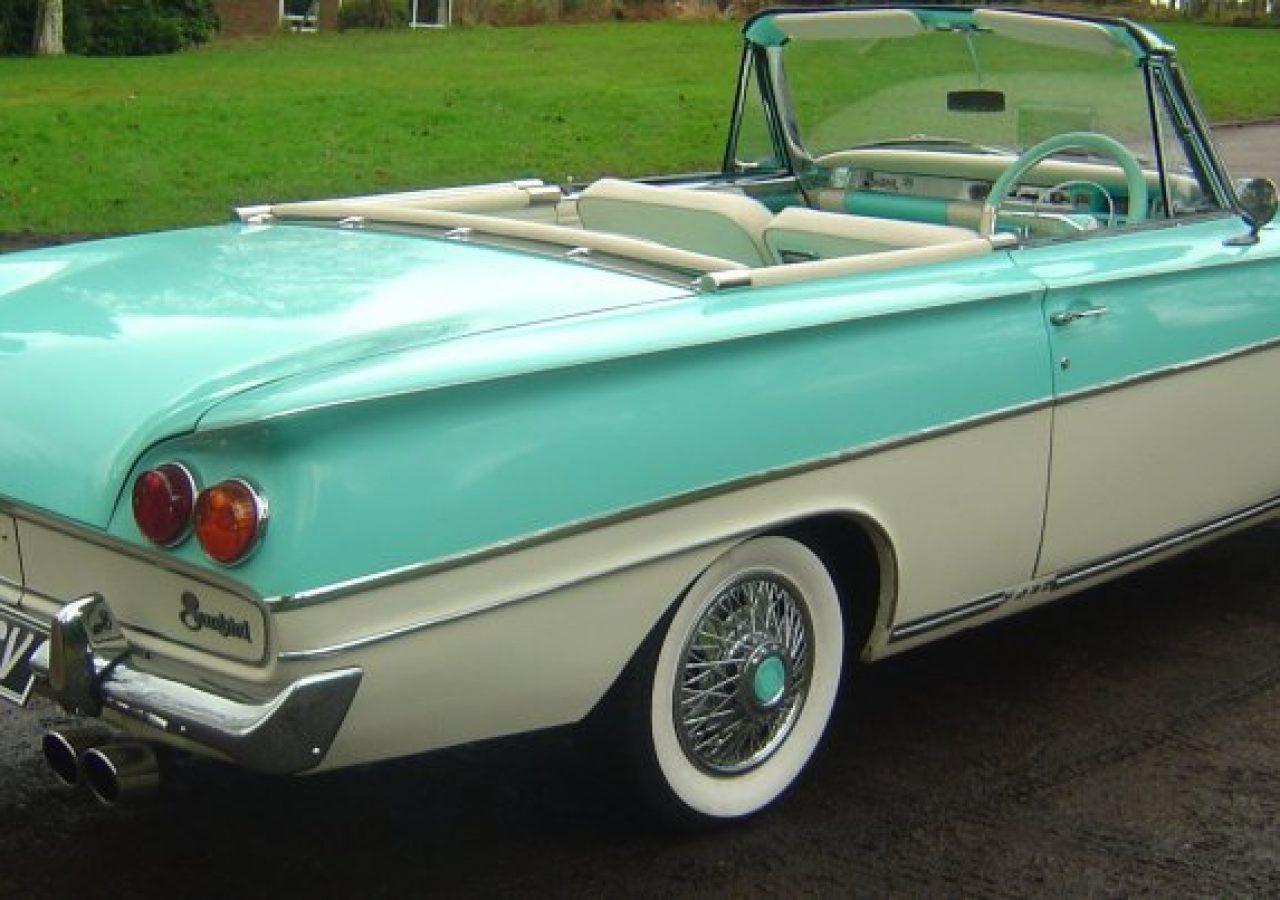 Ford Consul Capri Convertible 1962 Studio 434