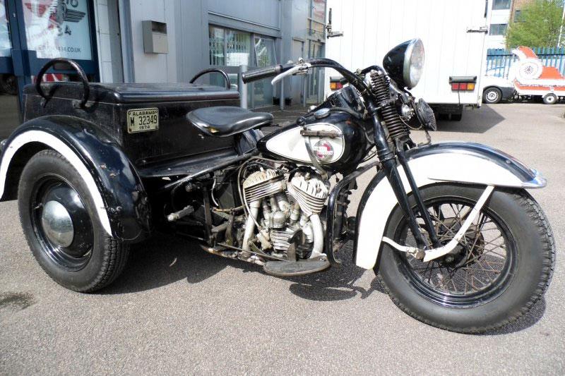 Harley Davidson Trike (1957)