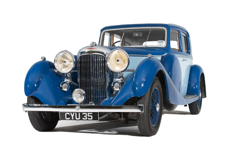 Lagonda LG45 Pillarless Sporting Saloon (1936)