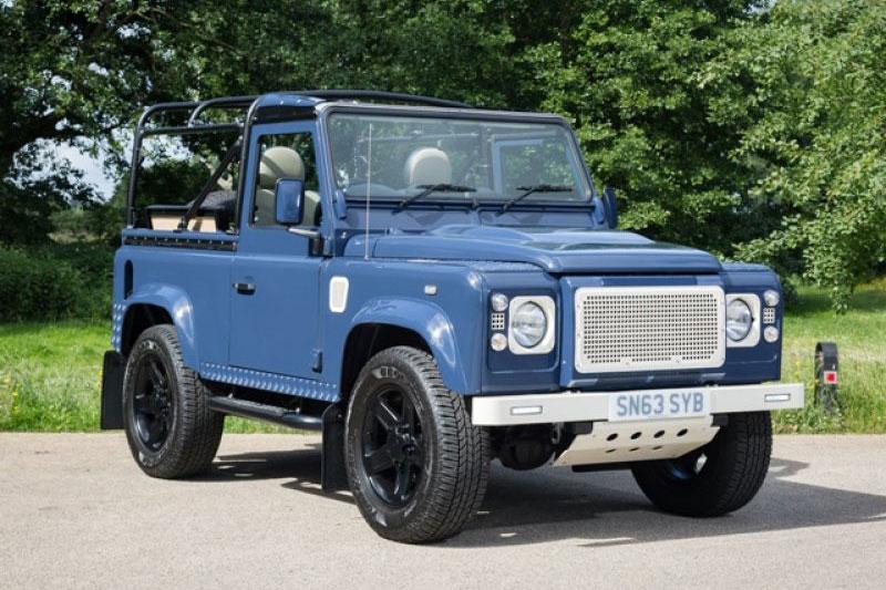 Land Rover Defender 90 Pick Up TD (2013)