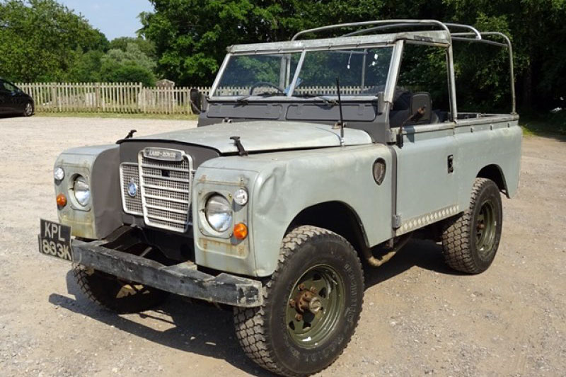 Land Rover Light 4×4 Utility (1972)