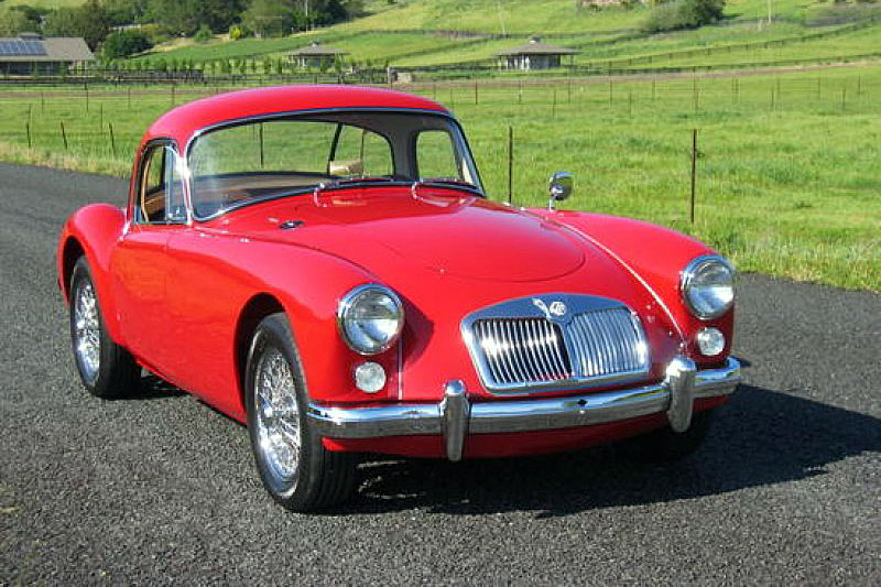 MG MGA Coupe (1960)