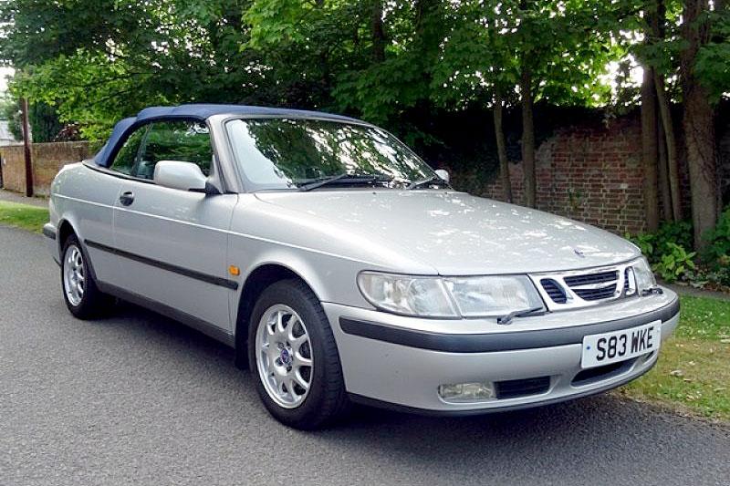 Saab 9 3 SE Convertible (1998)