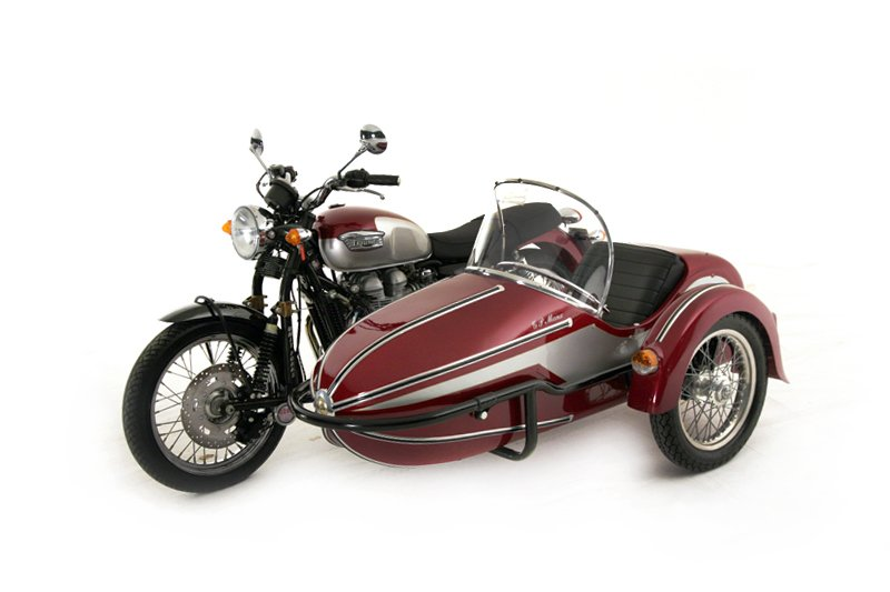 Triumph Motorcycles Bonneville Motorcycle and side car (2001)