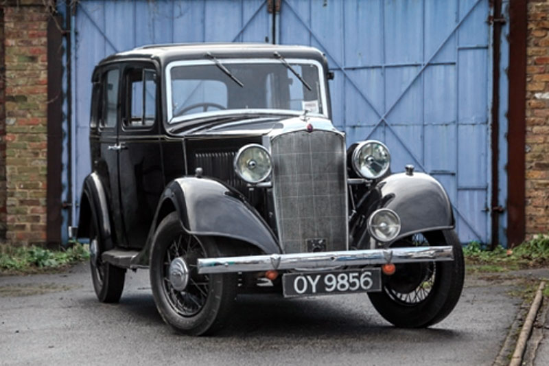 Vauxhall 14 Light Six Saloon (1934)