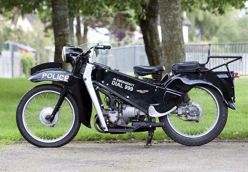 Velocette Motorcycles LE Police Bike (1969)