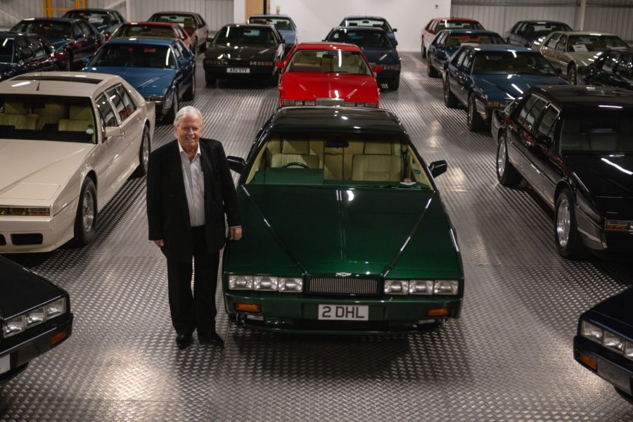 One man's passion for the unloved Aston Martin (MR)